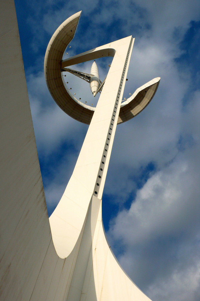 Calatravas Fernmeldeturm