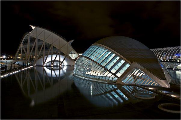 "Calatravas ""Spielwiese"" . . . in Valencia"