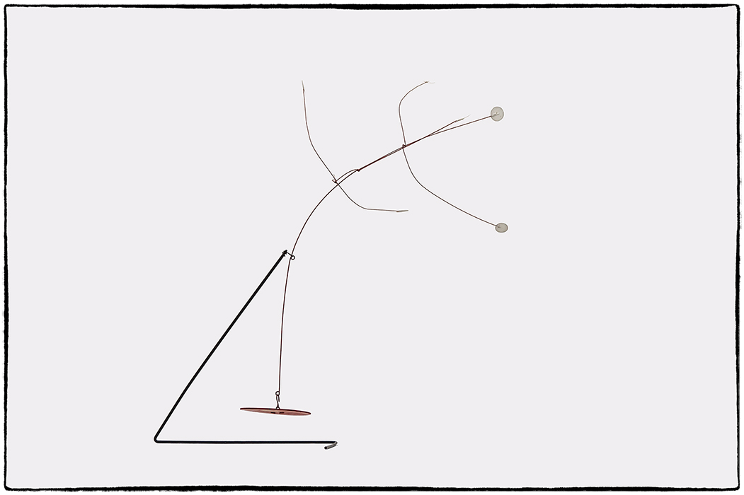 Calder auf der Museumsinsel Hombroich (2)