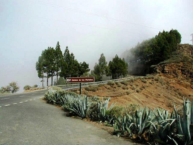 Caldera de Los Marteles.