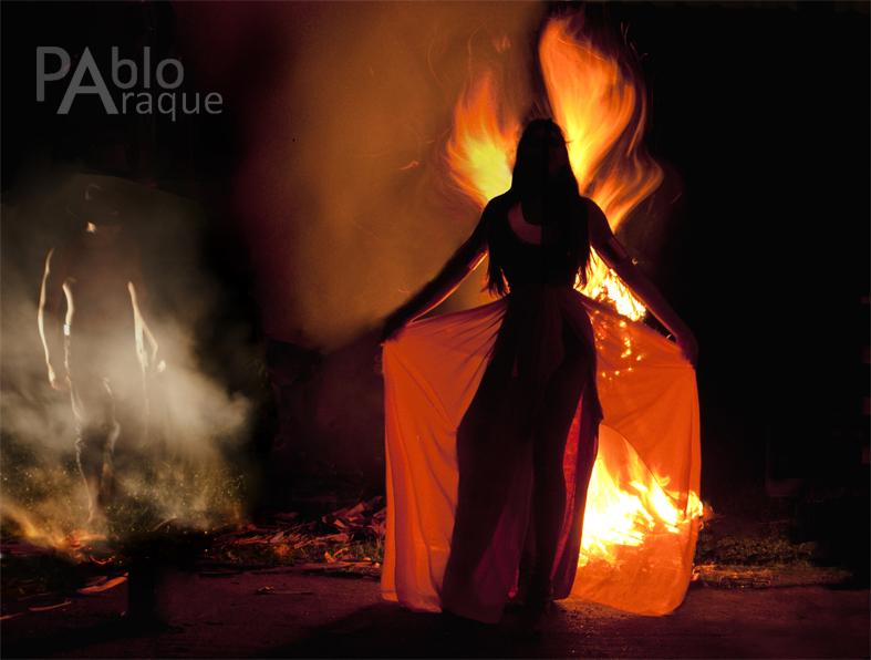Calendario Mitos y Leyendas de Casanare, Leyenda de la bola de Fuego.