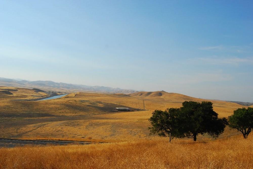 California - California Aqueduct - Interstate 5