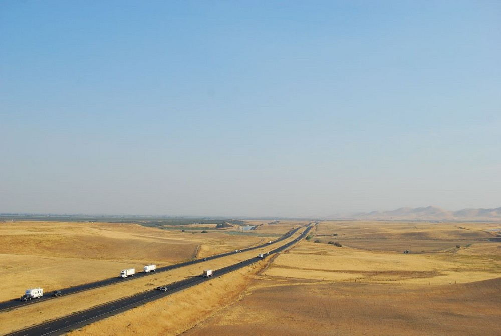 California - California Aqueduct - Interstate 5 II