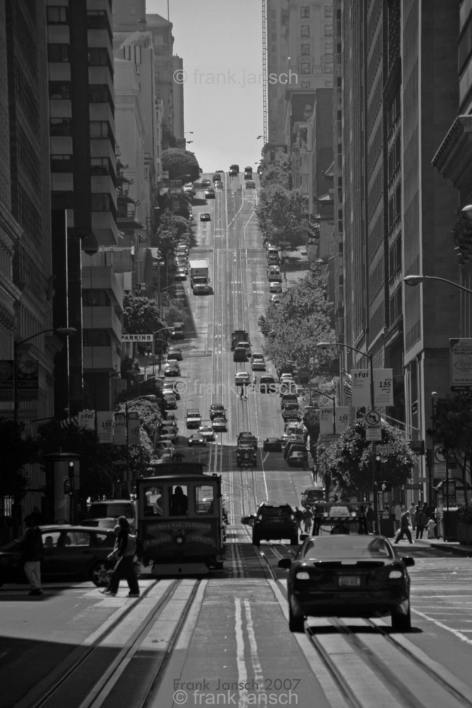 California Street 2007 in San Francisco