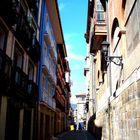 Calle de Bermeo, País Vasco, España