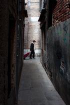 Calle del Traghetto, Dorsoduro, Venedig