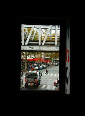Calle desconocida de París.