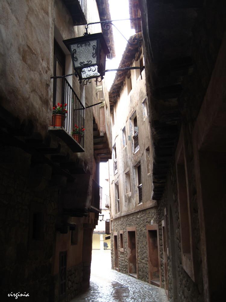 CALLE EN ALBARRACIN-TERUEL