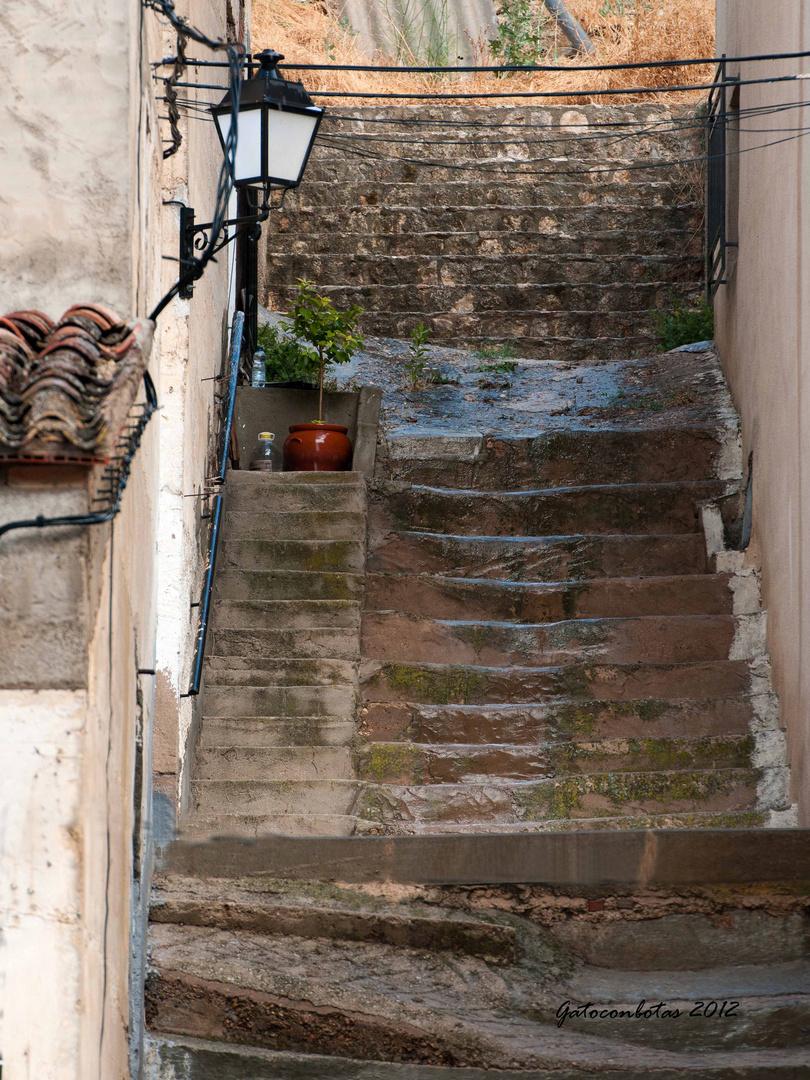 Calle en Molinicos (Albacete)