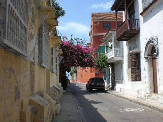 Calle in Cartagena