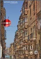 Calle típica de La valetta