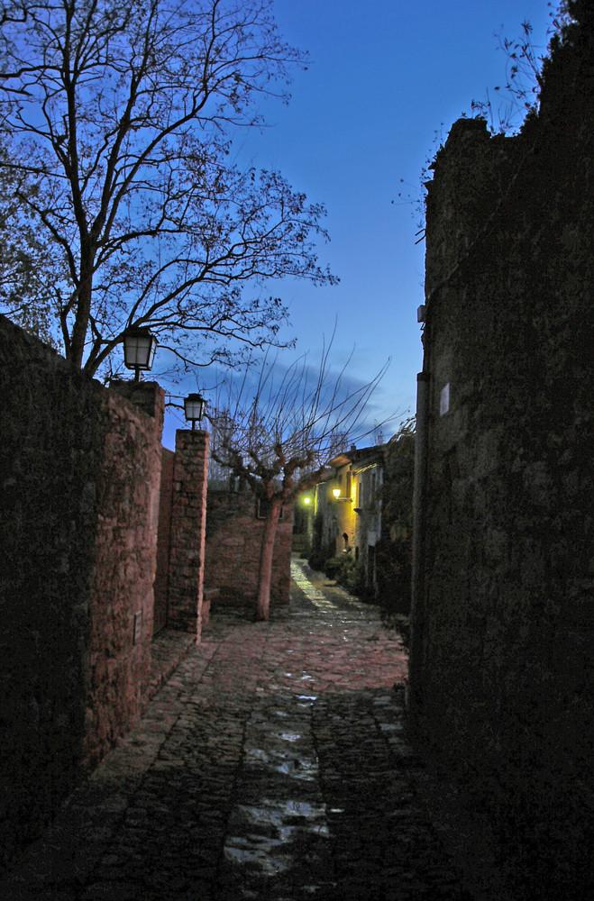 calleja en Peratallada