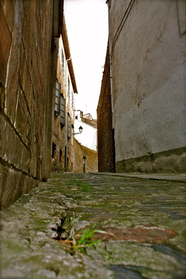Calles de Santiago de Compostela, Spain