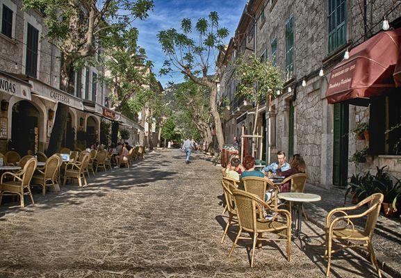 Calles de Valldemosa...