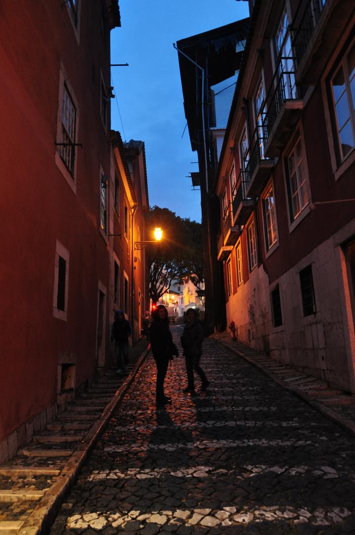 Calles empinadas