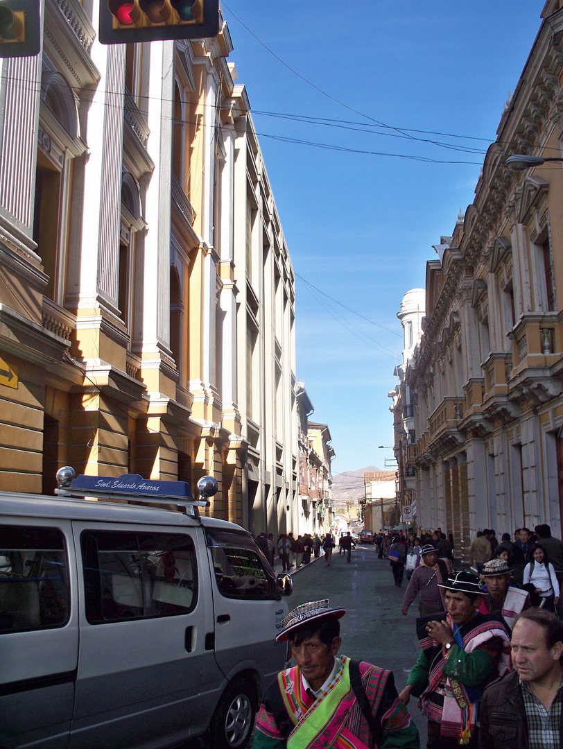 calles paceñas