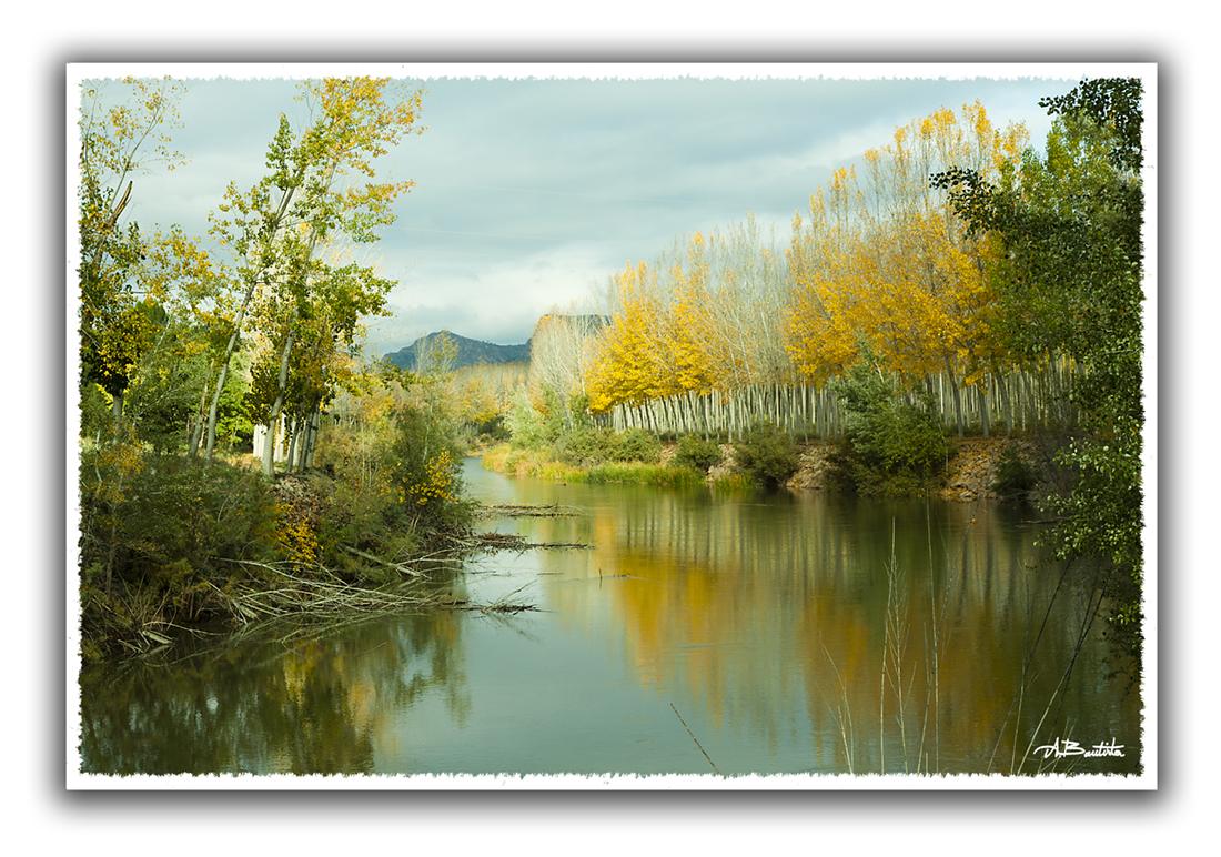 calma en el rio