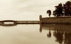 Calma piatta nell'antica laguna...