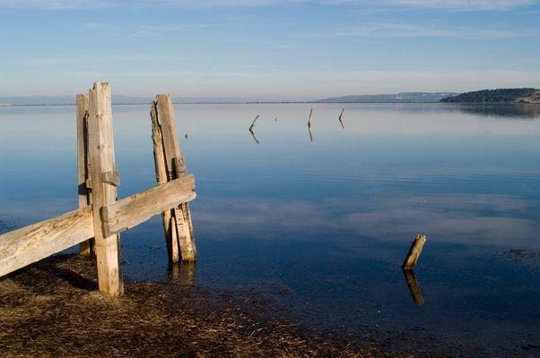 Calme et silence à l'étang de Bages (11)