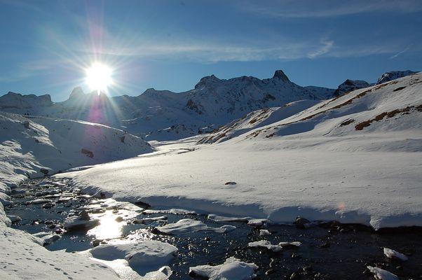 calme et tranquilité d'hiver !!!!