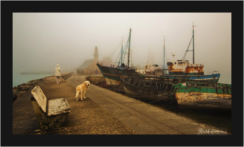 Camaret dans le brouillard