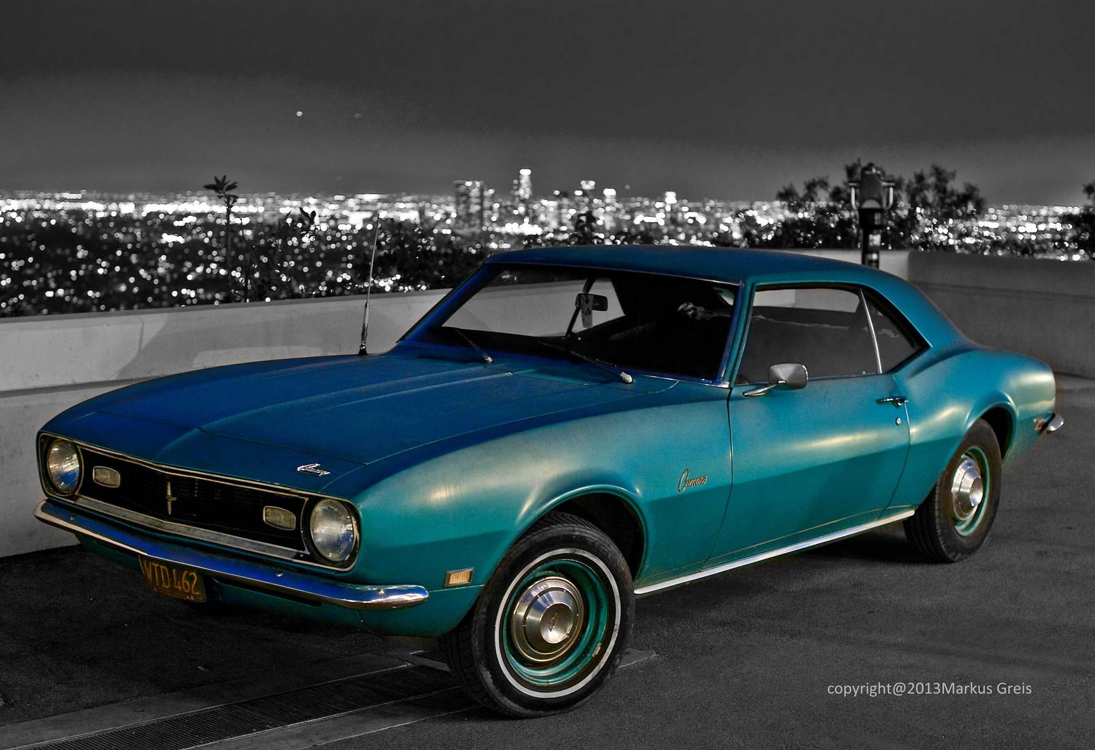 Camaro at Griffith / LA