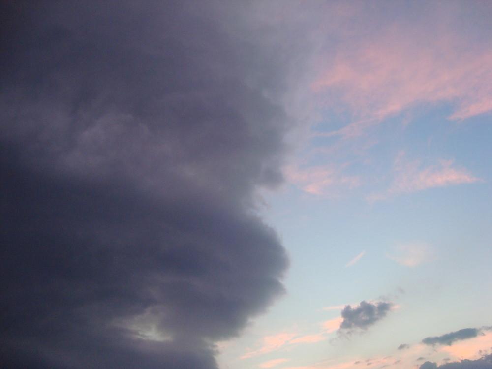 Cambio de nubes...