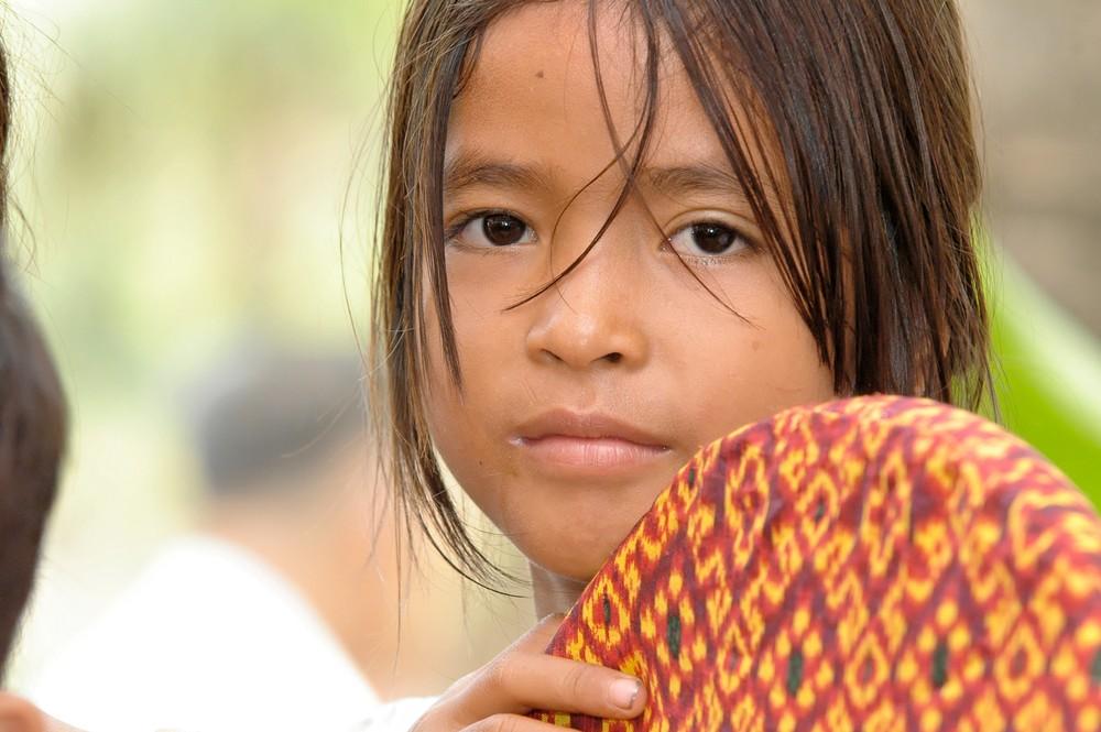 Cambodge 2006 Timide