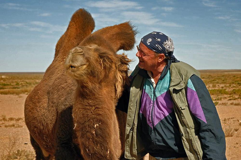 Camel lady gets my friendship
