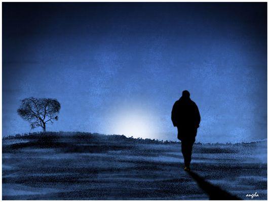 Caminando en la noche