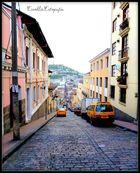 Caminando por el Quito viejo.