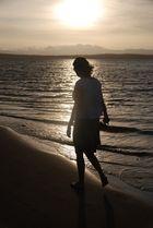 Caminando por las playas de Paracas