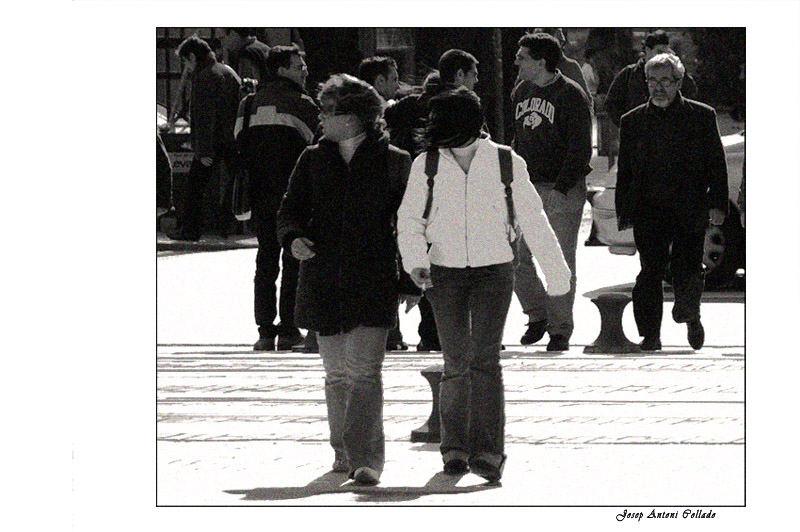 caminant II - walking II