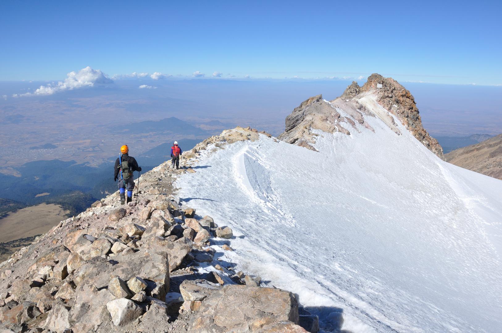 Caminata sobre glaciar