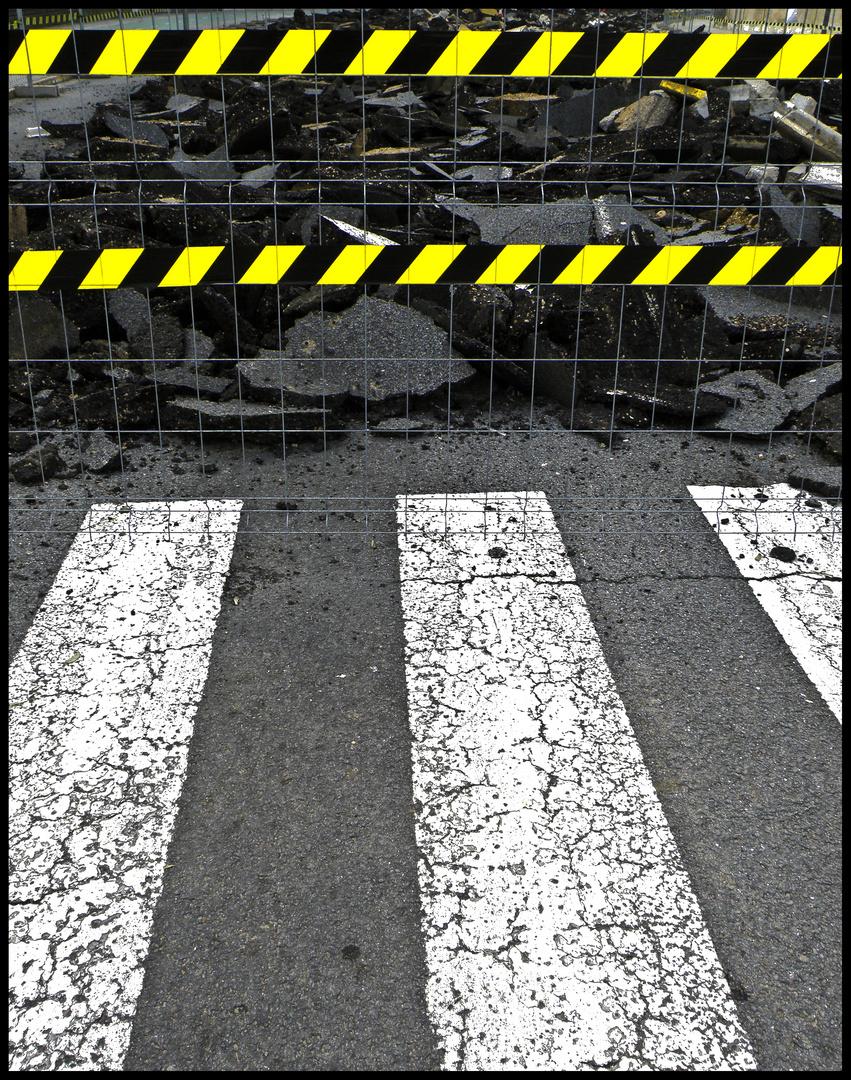 camino cortado