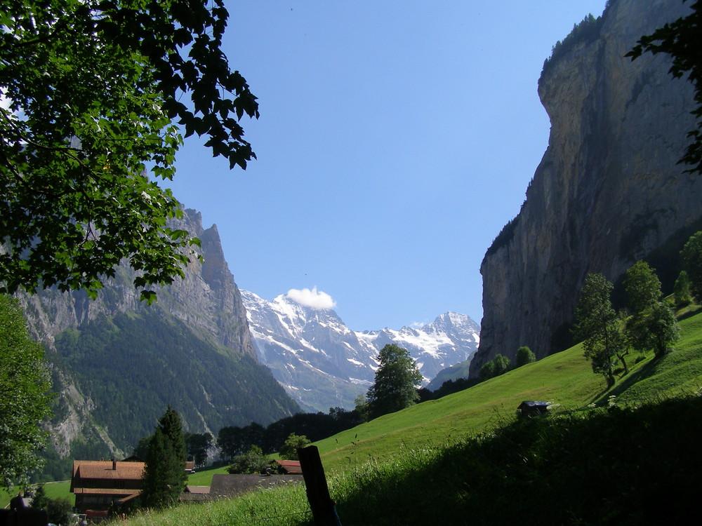 camino de las cascadas