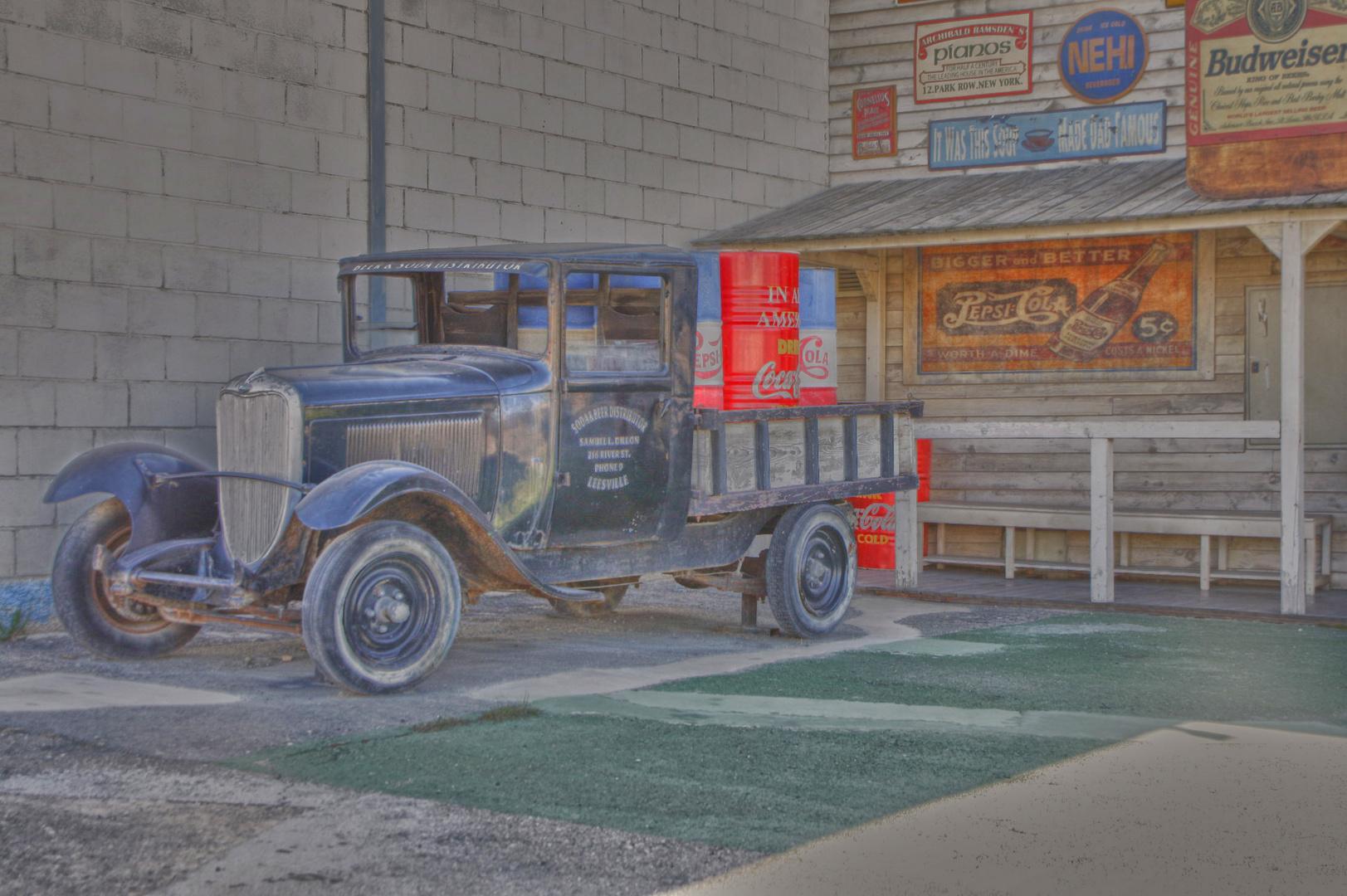 camion viejo