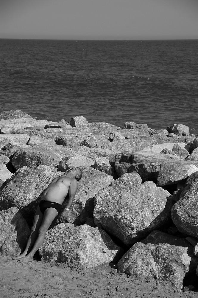 CAMOUFLAGE ... de plage !!!