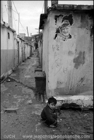 Camp de réfugiés palestiniens de Rashidié, sud-Liban