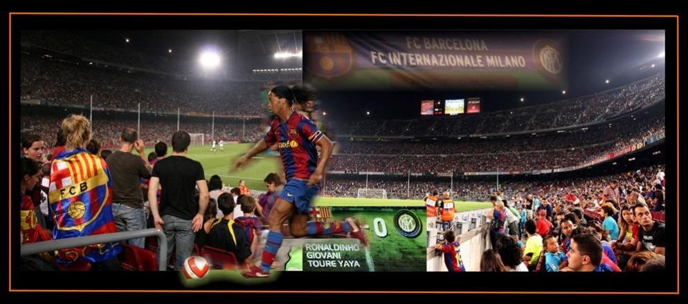 Camp Nou Collage Barcelona 2007