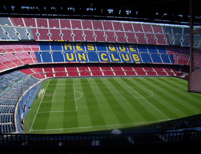 CAMP NOU - Estadio del FC Barcelona