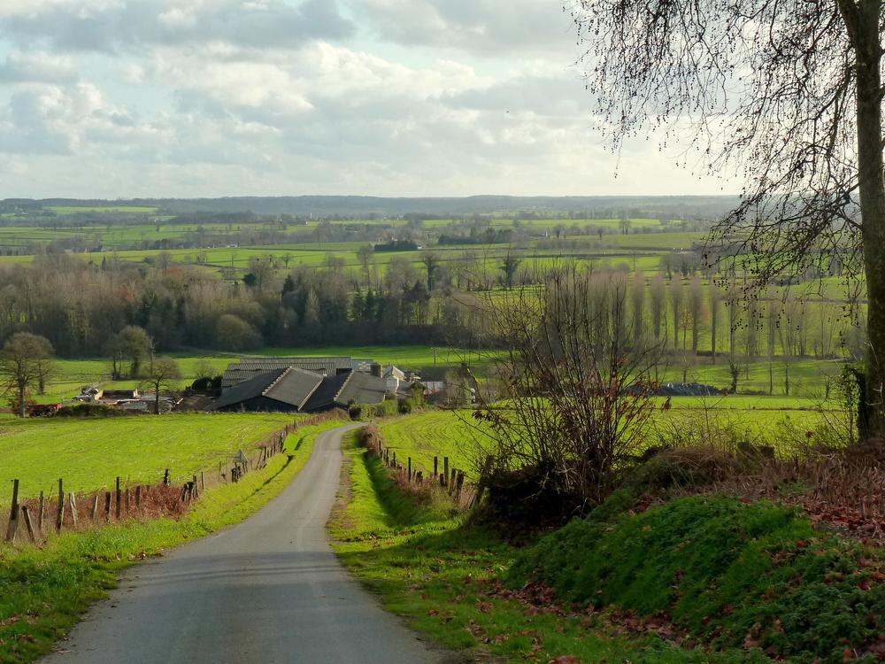 campagne bretonne sous un rayon de soleil photo et image paysages paysages de campagne. Black Bedroom Furniture Sets. Home Design Ideas