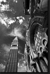 Campanile e Basilica  -  Venedig