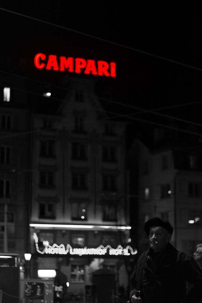 Campari shots