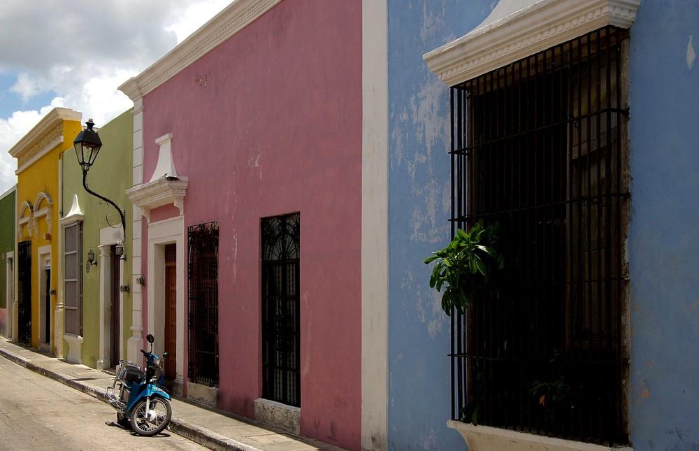 Campeche - Altstadt (3), 02.07.2007