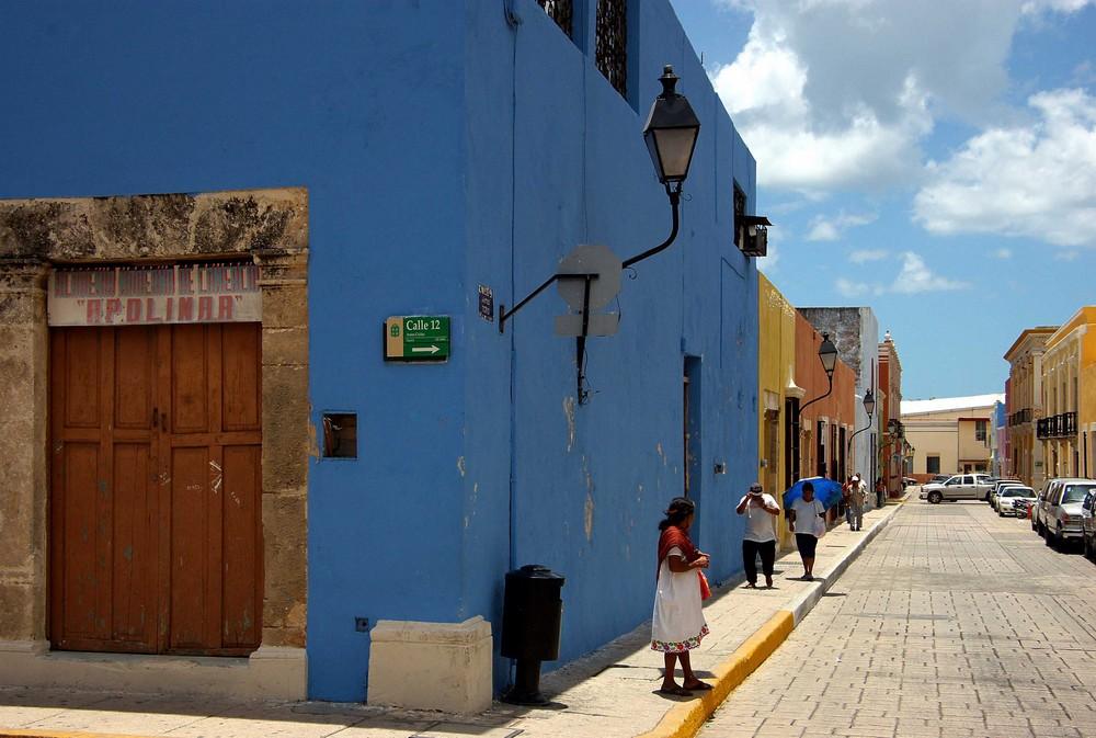 Campeche - Altstadt (4), 02.07.2007
