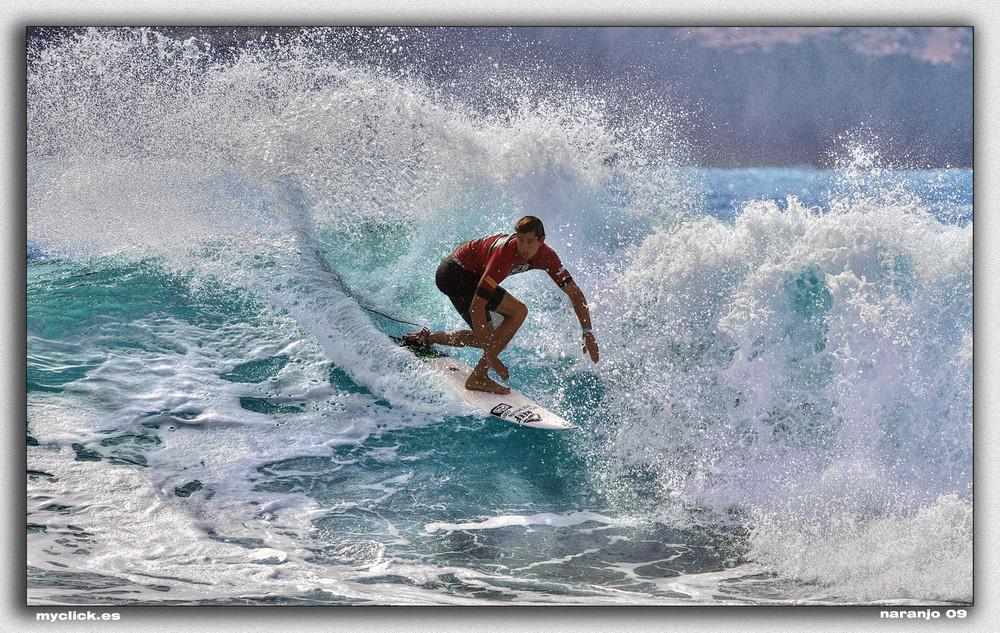 CAMPEONATO MUNDIAL DE SURF CONFITAL 2009-2 (Dedicada a Luky Sky WD)