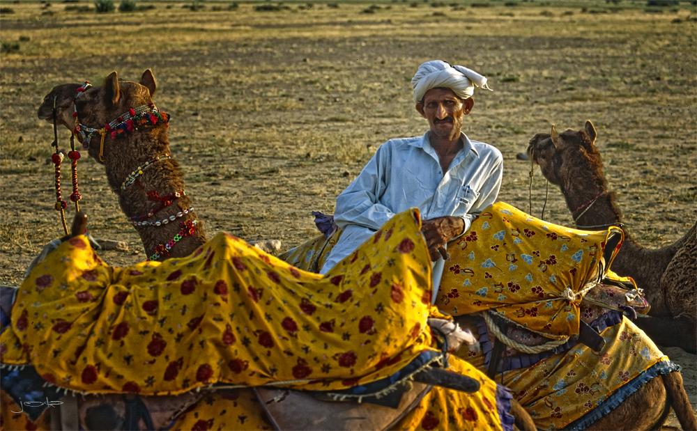 campesino de camello