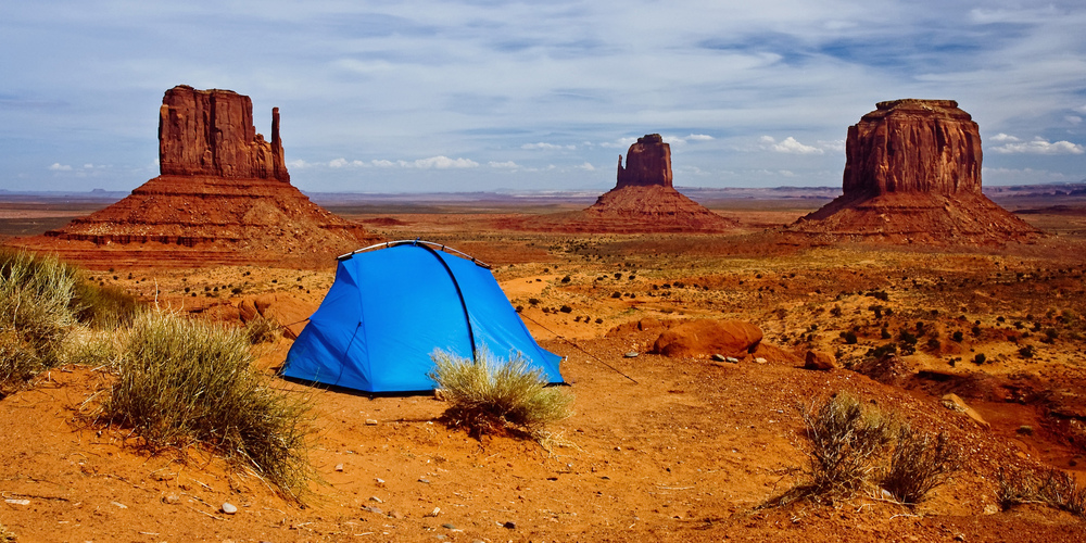 Campground - Monument Valley - Utah - USA