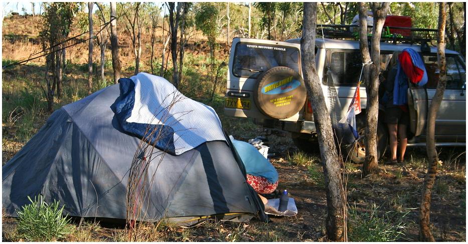 ** camping **
